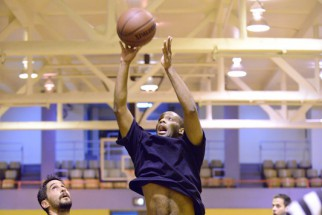 Male NYC Basketball Player