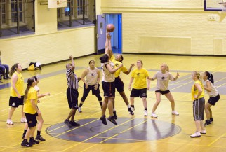 Woman's Basketball tipoff!