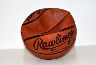 Deflated basketball