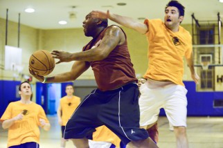 large nyc basketball league players