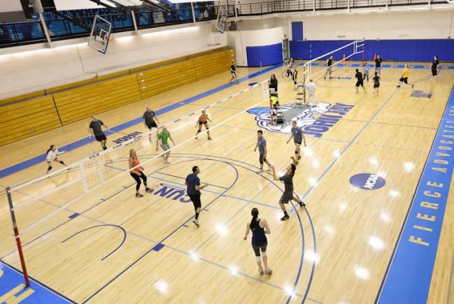 John Jay volleyball Court