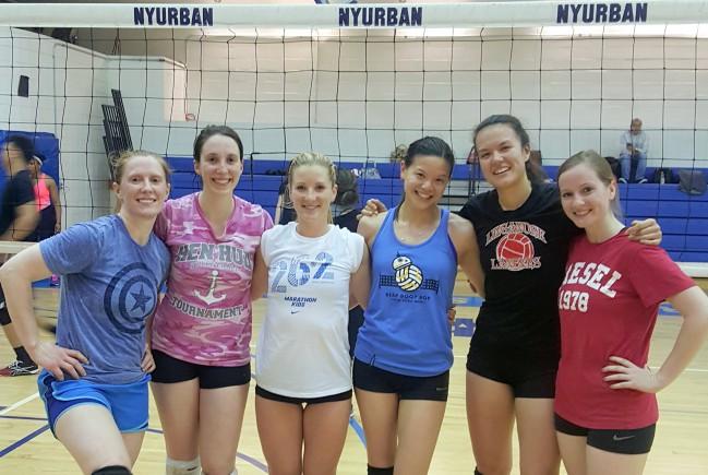 winning women's team
